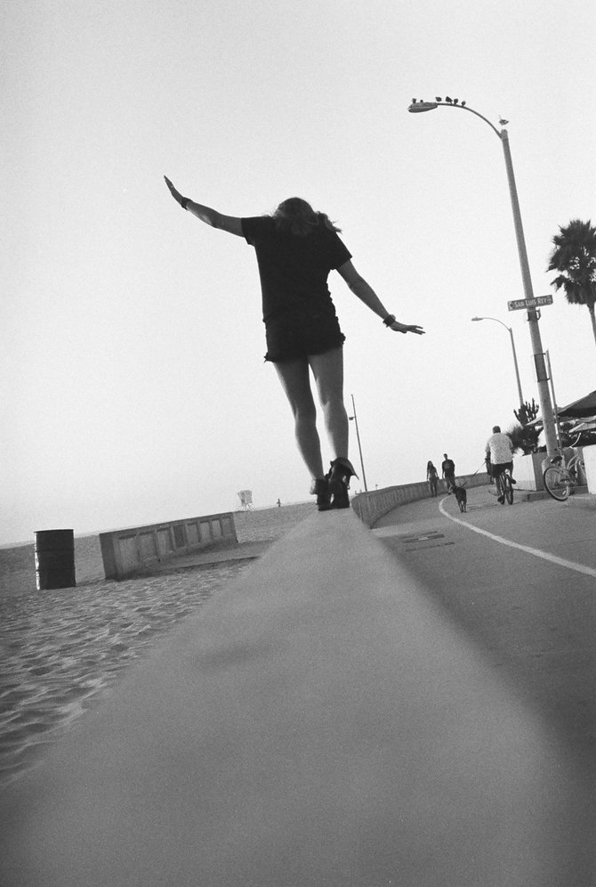 Balance in Mission Beach