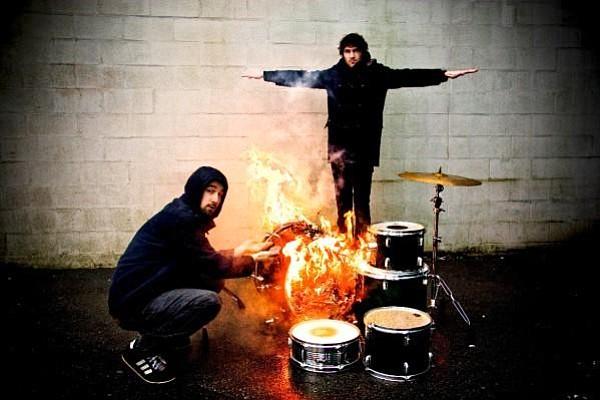 Garage-rock duo Japandroids play Porter's Pub Saturday.