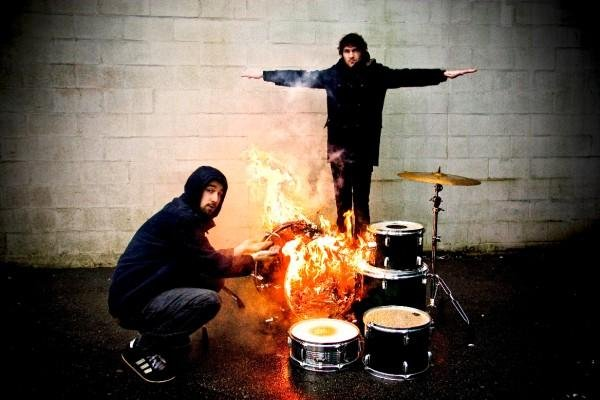 Garage-rock duo Japandroids play Porter's Pub Saturday.