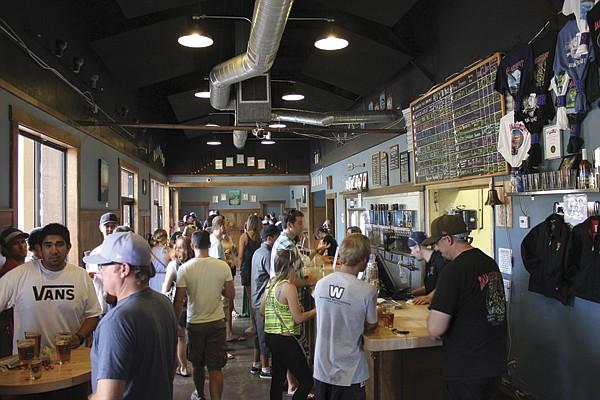 Ballast Point Brewing tasting room