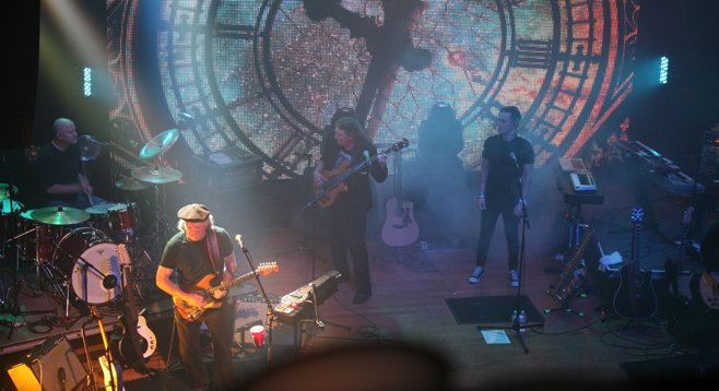 Get a sneak peek at the Pink Floyd Experience on January 19 at Winstons.