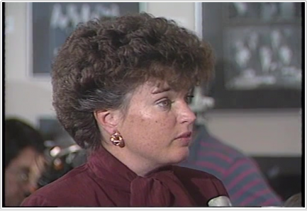 Maureen O'Connor in the 1980s