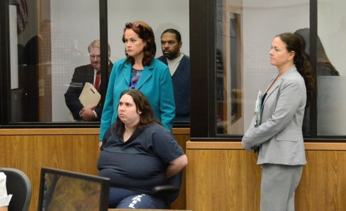 Jessica Lopez, Louis Perez, Dorothy Maraglino plead not guilty to murder.  Photo Weatherston.