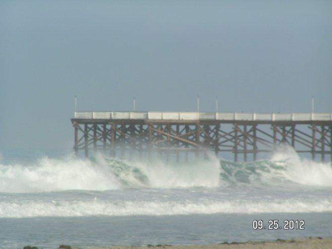 Waves Taken in Pacific Beach