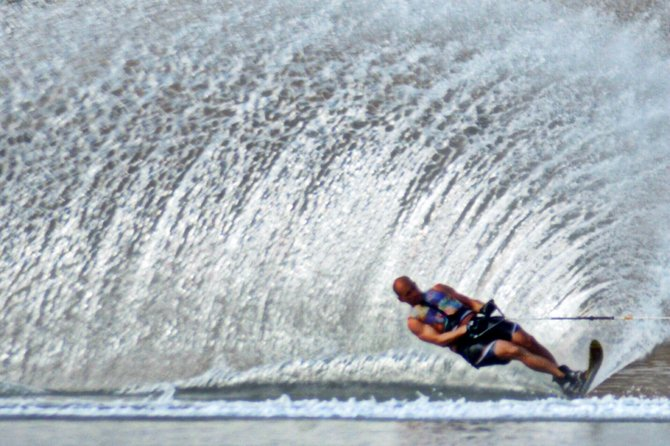 Water Skier At Fiesta Island