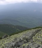 The breathtaking Carpathian Range stretches in an arc from the Czech Republic through western Ukraine ...