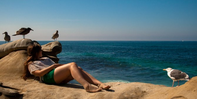 San Diego's own: La Jolla Cove.
