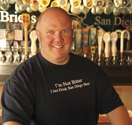 Tom Nickel of O'Brien's Pub, West Coast Barbecue and Craft Beer, and, soon, Nickel Beer Company