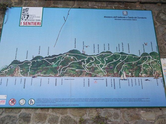 Cinque Terre's trails