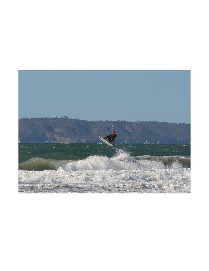 Kite surfin' in Coronado