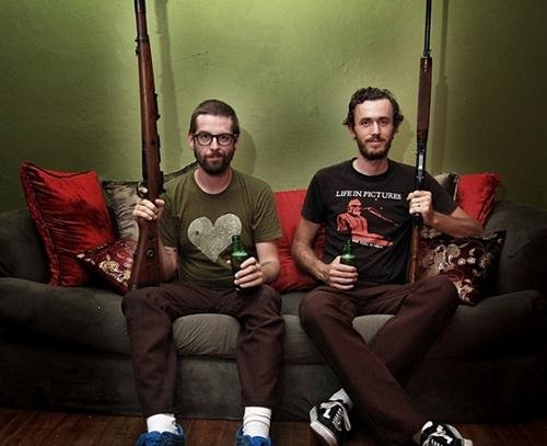 Folk-punk duo Andrew Jackson Jihad play the Ché on Friday and Saturday.