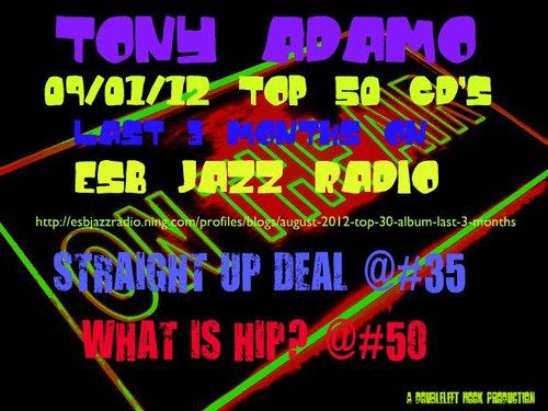 Tony Adamo in Top 50 on ESB Jazz Radio