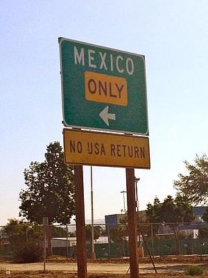 headin' south of the border
