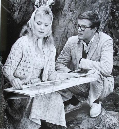 Jean Seberg and Peter Fonda.