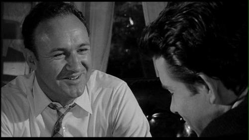 Gene Hackman and Warren Beatty.