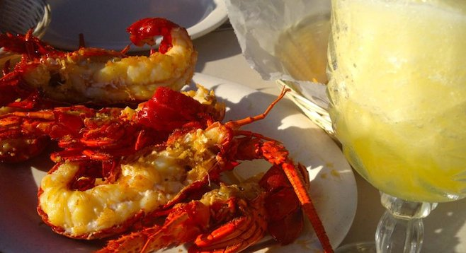 """""""Lobster town"""": Puerto Nuevo is still a cheap, delicious stop on Baja's Route 1."""