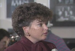 David Copley found teetotaling ex-mayor Maureen O'Connor (pictured here in the 1980s) to be less daring than her drinking twin sister Mavourneen.