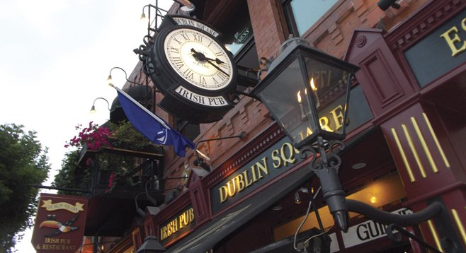 The pub is a replica of Tynan's pub in Kilkenny, Ireland.