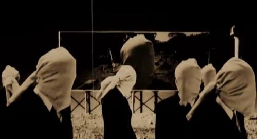 Still from Pointing South video