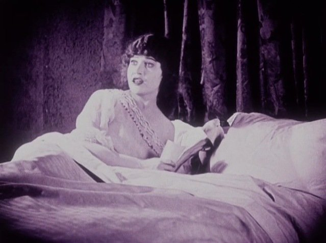 """Betty Compson in """"The White Shadow"""" (1924)."""