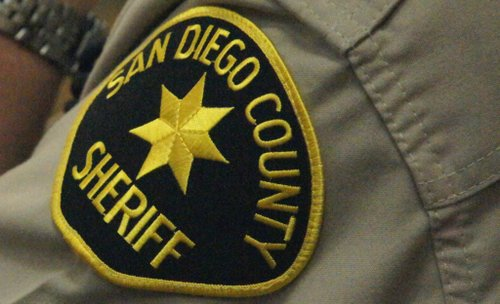 San Diego Sheriff's detectives tracked down the burglar.  Photo Weatherston