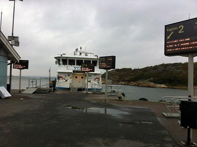 Commuter ferry to Styrsö Skäret.