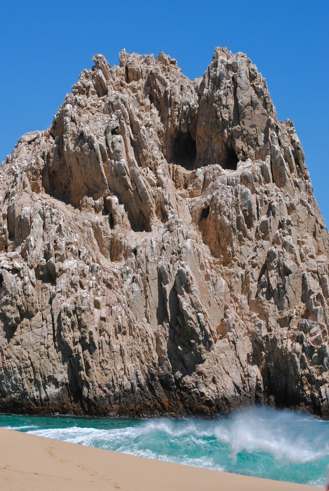 Cabo San Lucas is home to amazing rock formations and crystal clear water.