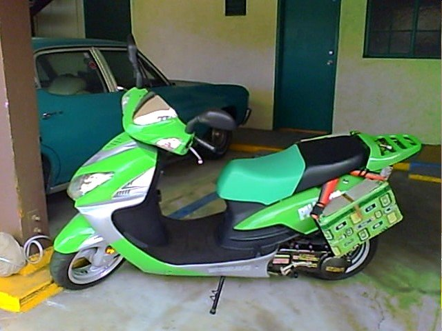 My Pet Scooter before.
