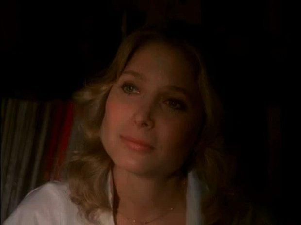 "Deborah Raffin as Charles Bronson's designated dead girlfriend in ""Death Wish 3."""