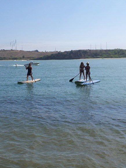 SUP at Carlsbad Lagoon