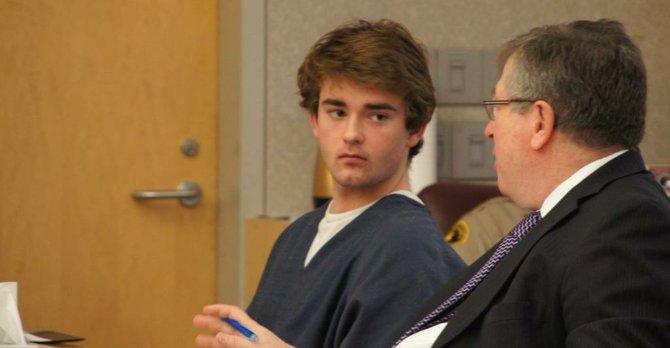 Drew Maxwell Davidson, 19 years old.  Photo Weatherston.