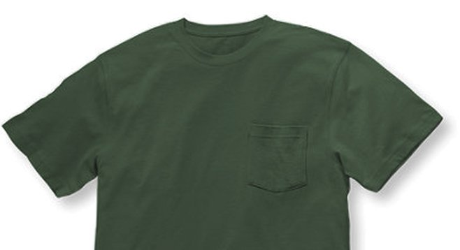 L.L. Bean men's T-shirt in Camp Green