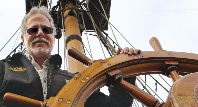 Ray Ashley, head of the Maritime Museum
