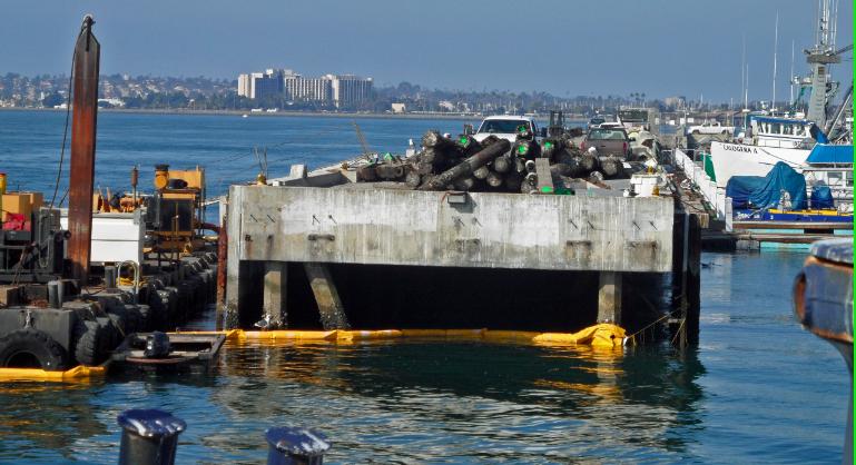 G street pier overhaul san diego reader for Pier fishing san diego
