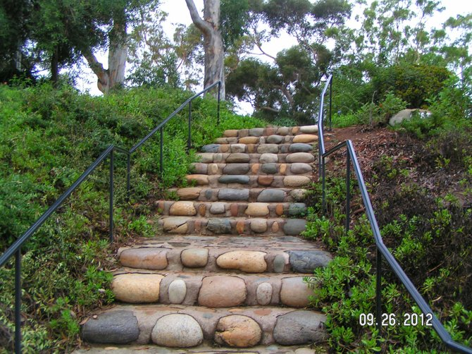 Presidio Park Stairway to What?