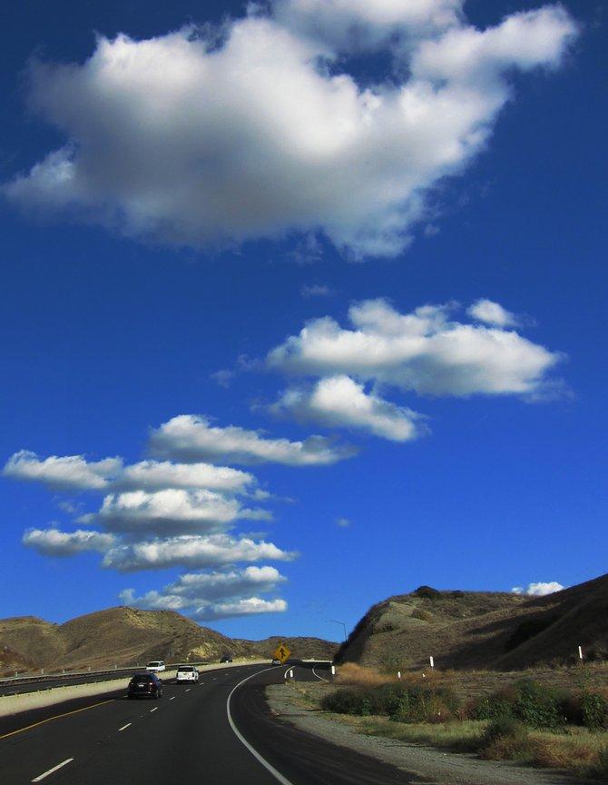 Scenic view along Moreno Valley Parkway near Rancho Mirage