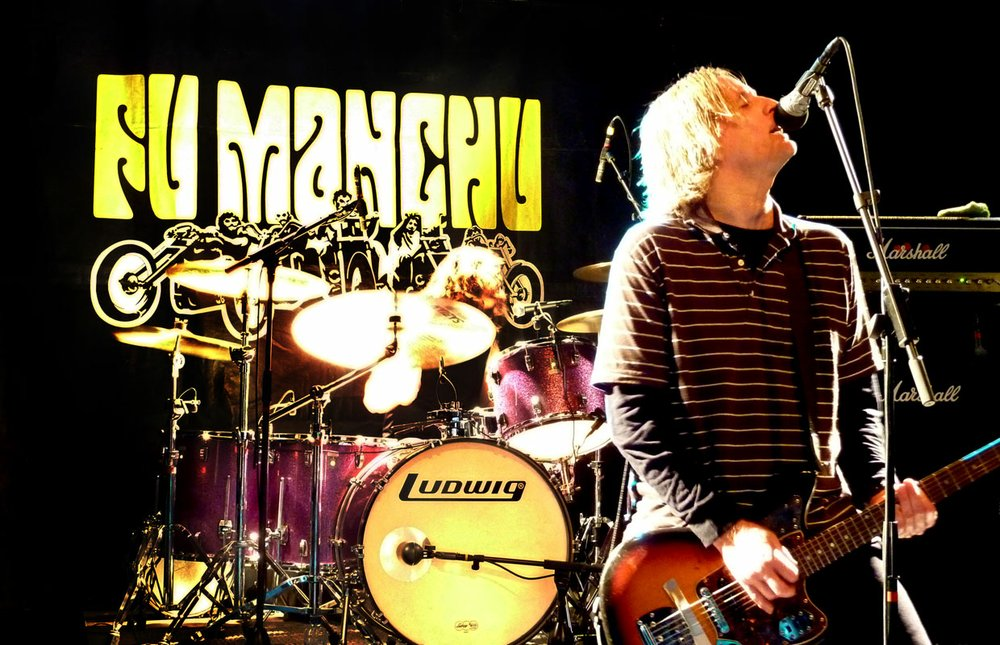 Fuzz-rockers Fu Manchu roll into Brick by Brick on Saturday.