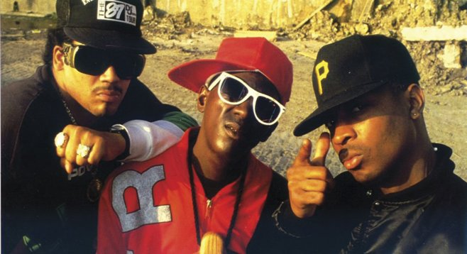 East Coast hip-hop collective Public Enemy rolls up on 4th&B Wednesday.