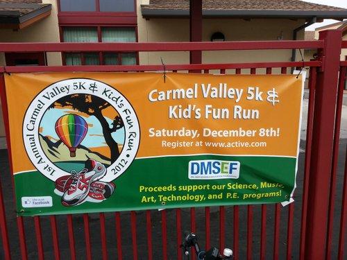 Banner at Torrey Hills Elementary School
