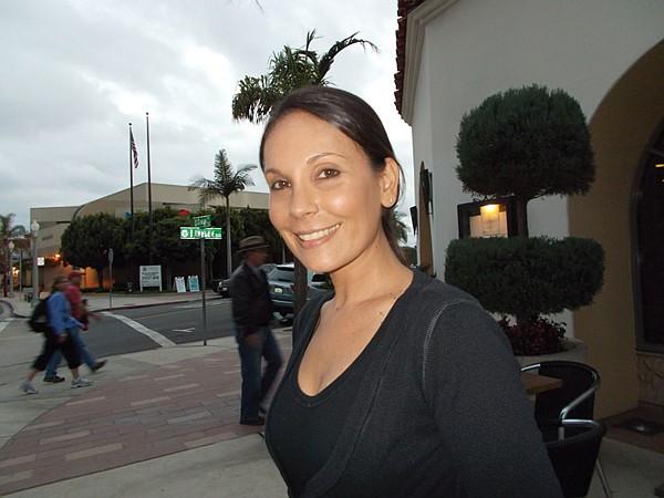Our server, Mariana