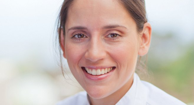 For a year, Stephanie O'Mary-Berwald worked in a New York City restaurant kitchen for free.