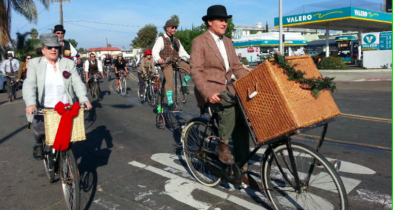 tweed ride includes penny farthings costumes and grand piano san diego reader. Black Bedroom Furniture Sets. Home Design Ideas