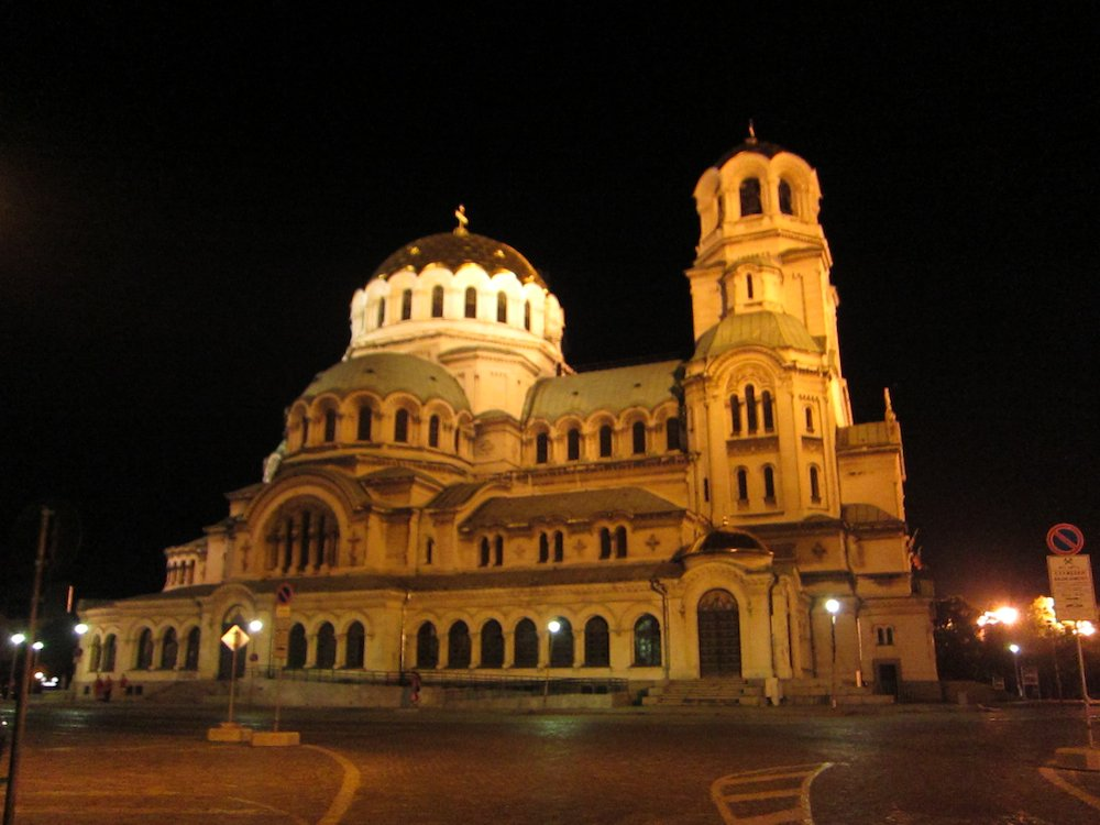 Sofia's St. Alexander Nevsky Cathedral, one of the largest Eastern Orthodox cathedrals in the world.