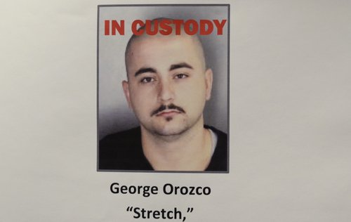 Photo of George Orozco displayed by Oceanside Police.
