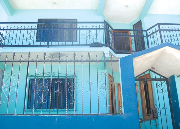 The author's two-story 3300-square-foot house in Tijuana rented for just $500 per month, $300 less than the one-bedroom San Diego apartment from which he'd been evicted.