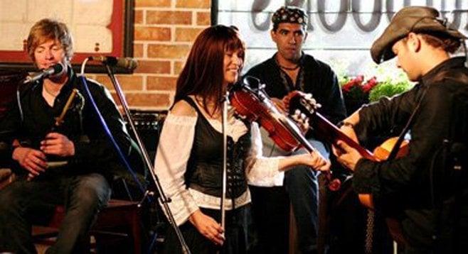 Tim Foley's real band is the Celtic-folk SDMA winners Skelpin.