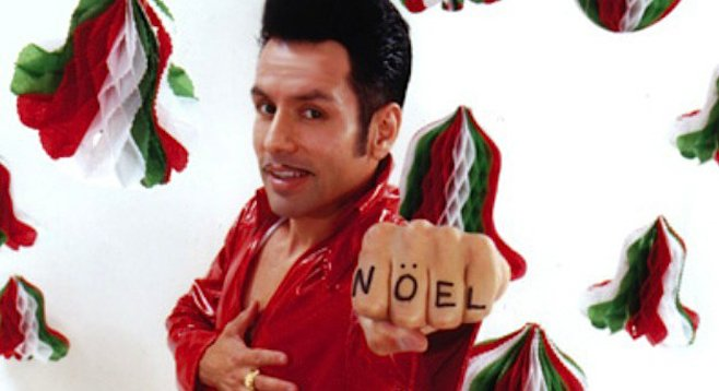 El Vez will help you put the Elvis back in Christmas Saturday night at Casbah.