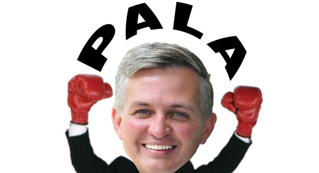Mystery money from the Pala Indian band helped Dave Roberts stomp Steve Danon for county supervisor.