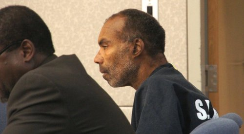 Calvin Grey Moore, 53, was released. Photo Weatherston.