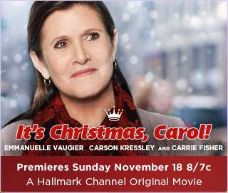 Carrie Fisher 2012